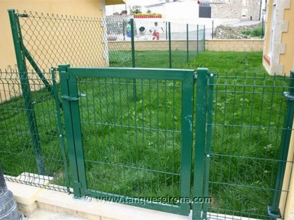 Vallas y ocultaciones de jardin Tanques Girona