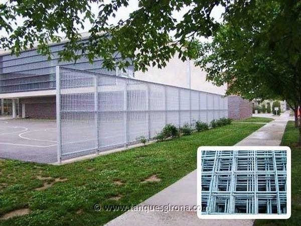 Verjas y cerramientos de aluminio termolacado
