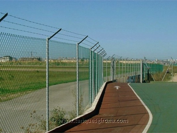 Vallas y cierres perimetrales Tanques Girona